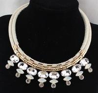 2015 New Fashion Gorgeous Rhinestone Necklace Choker Statement Necklaces & Pendants Design Pendant Colar Women Jewelry
