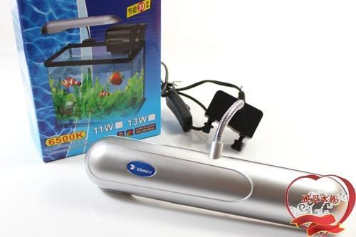 RS-307 , wins the new aquarium clip lamp energy saving lamp 11W mini plants aquarium clip light(China (Mainland))
