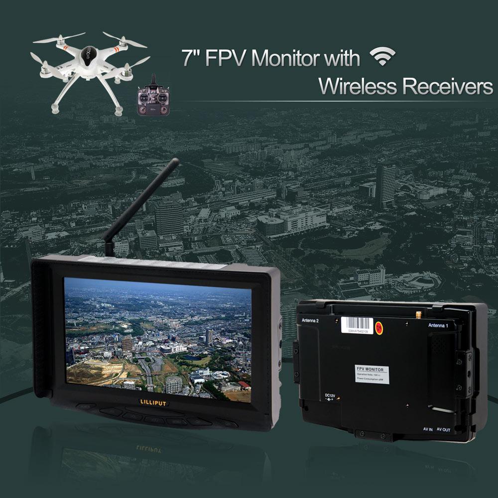 Аксессуары для фотостудий Lilliput 329/W 7 5,8 TFT LCD FPV FPV D1854-A