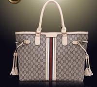 Hot Sales New 2015 women's shoulder bags high quality designer handbags fashion casual tassel printing bags big bag TDS117