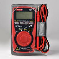 AU18 Pocket LCD Digital Multimeter 3 3/4 digit  Volt Resistance Capacitance Frequency  Auto range Hz Ohm CAP Diode 105*55*12mm