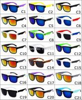 Wholesale Brand Retro sunglasses women men eyewear sports cycling eyeglasses coating gafas oculos de sol feminino sun glasses