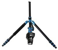 Blue aluminum camera stand for digital camera AC-288-QF-1T