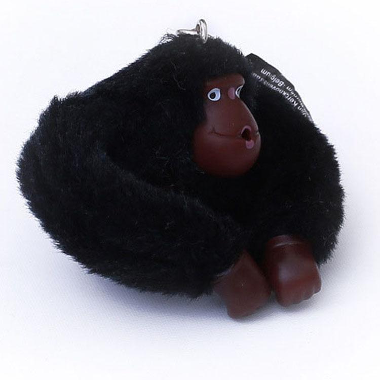 Cute Keychain Monkey Pendant Accessories Key Chain Kippl Orangutan Plush Toy For KP Messenger KIP Shoulder Bag Kipled Purse(China (Mainland))