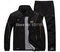 FREE SHIPPING,2015 new arrival fashion sports brand men clothing set male sportswear tracksuit set jacket pants