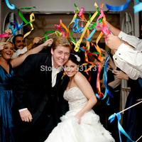 Multicolour ribbon magic wand fairy stick fashion wedding supplies