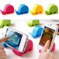 3pcs/lot Cute Elephant Car fone Phone Holder Stand Suport monopod selfie suporte movil para celular organizador gadgets cool