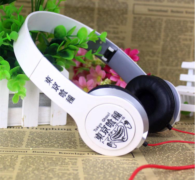 Free Shipping! Japanese Anime Tokyo Ghoul Cosplay Headband Earphone Headphone Birthday Christmas Gift()