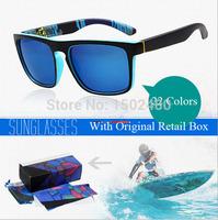 2015 Sport Famous Brand QS Sunglasses Men masculino espelhado Sun Glasses Mormaii Women Oculos De Sol quadrado with original box