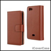 Book Flip Stand Wallet Leather Phone Case for Sony Xperia Miro St23i