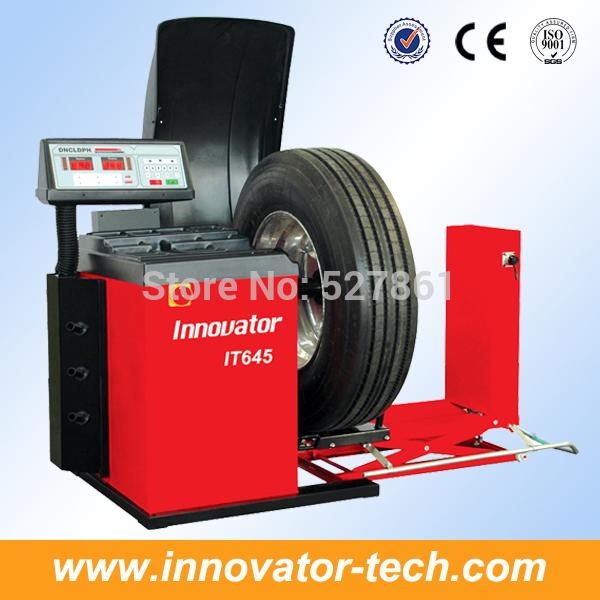 Heavy duty bus wheel balancer for truck wheel balance CE approve model IT645(China (Mainland))