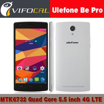 Оригинал uleFone быть Pro 5.5 дюймов MTK6732 четырехъядерных процессоров андроид 4.4 4 г LTE мобильный телефон 2 ГБ оперативной памяти 16 ГБ ROM 13.0MP камера телефон в наличии