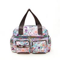2015 spring and summer women's handbag messenger bag casual one shoulder cross-body water wash cotton prints bag nylon nappy bag