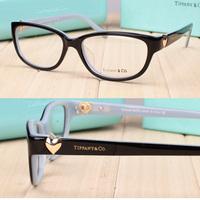 2015 heart eyeglasses women optical frame TF glasses frame myopia glasses 2095 frame glasses