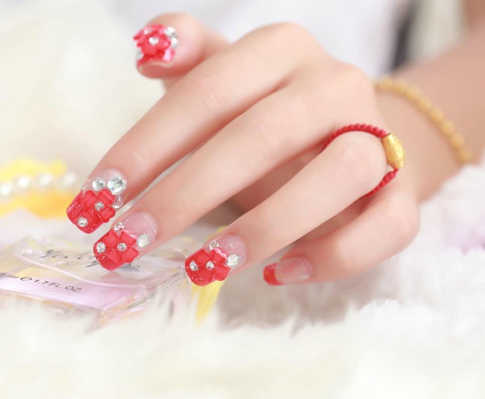 Nails per la cerimonia nuziale