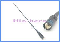 NAGOYA NA-771 SMA-F SMA-Female Dual Band Soft Antenna VHF/UHF 144/430MHz for Baofeng UV-5R UV-5RA UV-B5 BF-888S Two Way Radio