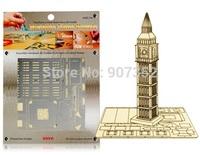 Big Ben DIY 3D Laser Cut Models Puzzle Free Shipping