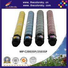 (CS-RC2003L) toner laser cartridge for Ricoh MP C2003SP C2503SP C2503LC MPC2003SP MPC2503SP MPC2503LC KCMY 15k/3k free Fedex