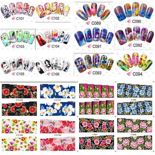 Наклейки для ногтей New Brand 100 2015 DIY #NC081 наклейки для ногтей new brand 50sheets diy xf1299 1331 cat styles