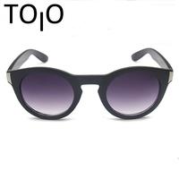 2015 Brand Trendy Vintage Punk Simple Generous Round Frame Climbing Fishing Aviator Outdoor Sport Sunglasses Brand Eyewear PD22