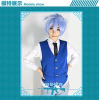cosplay anime costume Ansatsu Kyoushitsu Shiota Nagisa Vest+Shirt+Tie