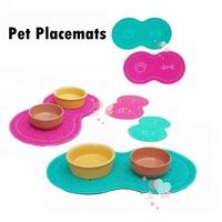 Pet Placemat Mats Pet cleaning supplies Pad dog Mat Doormat Cat Litter Loiter Foot Pad Cat Mat