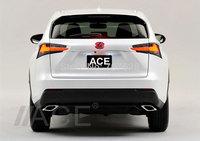 New Arrival Auto Rear Car 3D Logo LED emblem Badge light lamp For LX270 Lexus Series Refit Accessories Wholesale White/Red/Blue