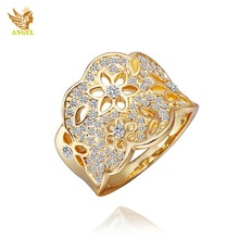 Angel Brand rings for men exaggeration tungsten ring for women rose rings