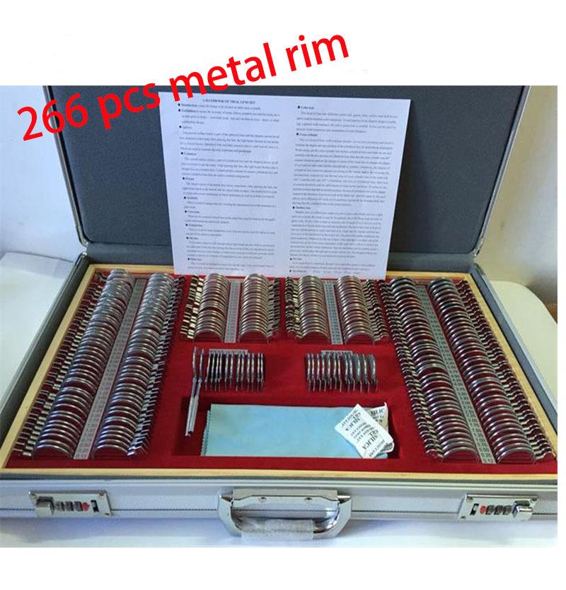 Trial Lens Retinoscopy Rim Optical Trial Lens Set