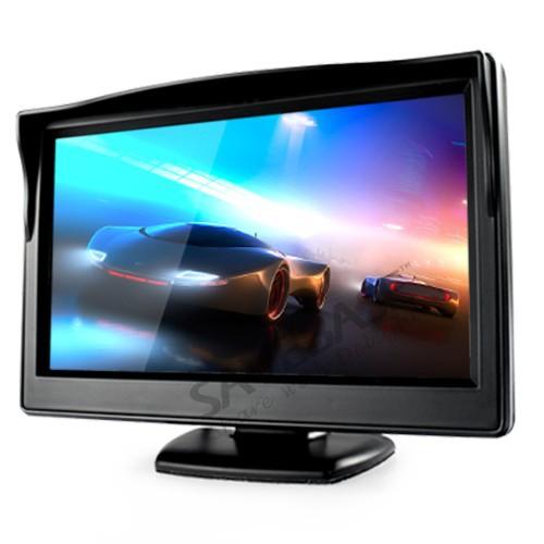 """SAVEBASE New 5"""" Inch TFT LCD Screen Monitor Display For Car Rear View Reverse Camera DV(China (Mainland))"""