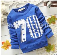 Spring children's pants 2015 children 100% hot-selling cotton t-shirt long-sleeve basic children's clothing 1018