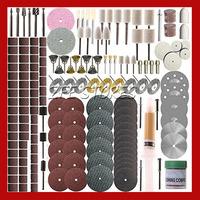 215 Piece Rotary Tool Accessory Set - Fits Dremel - Grinding, Sanding, Polishing Free Shipping