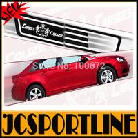 Free Shipping 2PCS/SET PC side turn signal light Cover Sticker ,Auto car decoration trim For chevrolet cruze 09-14