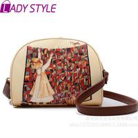 fashion vintage graffiti women handbag camera bag messenger Bags shoulder bags handbags women famous brands new 2015 HL3618
