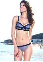 Sexy Stripes Accent 2PC Bikini Swimwear LC40976
