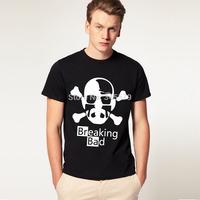Hot Sale Breaking Bad T Shirts Men Short Sleeve Cotton Man T-Shirt Euro Size Mens tshirt Tops Tee Shirt Free Shipping