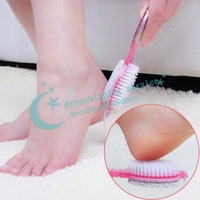Four In One Exfoliate Rub Foot Stone Grinding Foot Scrub Pedicure Tools Duplex Feet Free Shipping