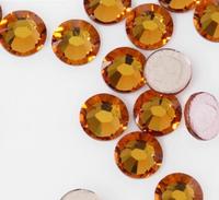 Free shipping/SS20 Best sale Topaz 1440pcs Hot Fix Rhinestone Crystals Jewellry Rhinestone For Wedding Dress DIY