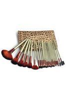 24 PCS Professional Leopard Print Makeup Cosmetic Brush Set  LC0247