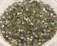 Free shipping/SS8 Best sale Jonquil 1440pcs Strass Rhinestone Hot Fix Flatback Beads For Clothing accessories