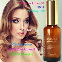 Morocco 100% pure argan oil for hair care 50ml Hair Oil treatment for Wavy Hair,Hot Sale  Free shipping Hair & Scalp Treatment