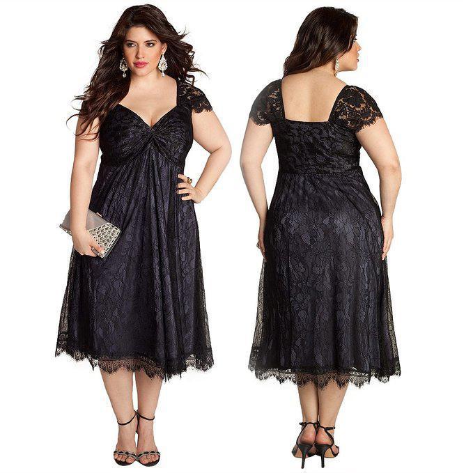 Com buy 2015 black plus size lace a line mother of the bride