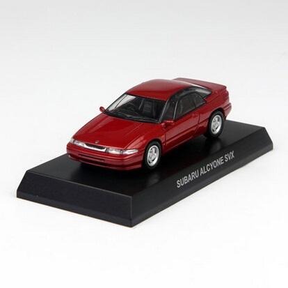 Freeshipping,Kyosho 1/64 Diecast Model Subaru ALCYONE SVX Red(China (Mainland))