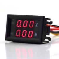 1Pcs LED Digital Single DC 3.5-30V 0-10A Volt Meter Ammeter Voltage AMP