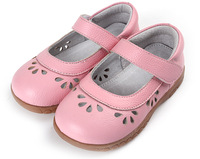 girls shoes cow leather toddler shoes pink mary jane flower cutouts shoes for girls bebe children retail wholesale 2015