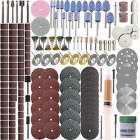 217 Piece Rotary Tool Accessory Set - Fits Dremel - Grinding, Sanding, Polishing