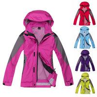Germany Outdoor Brand 3in1 Jacking Ski Jacket Women Hiking Camping Softshell Waterproof Urban Leisure Wolfskins Free Shipping