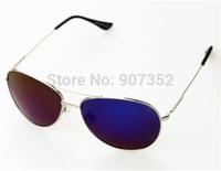 Blue Mirrored Sunglasses Men Silver Mirror Vintage Sunglasses Women Glasses  Polaroid Polarized Blue REVO Lens Free Shipping