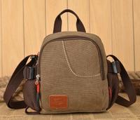 2015 fashion vogue casual canvas pattern brand denim men messenger bag briefcase versatile business male vintage men's bags
