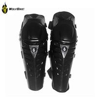WOLFBIKE Motorcycle Protective Racing Motocross Shin and Knee Pads Protector Guard Gear Knee Brace Joelheira Taticas BC313